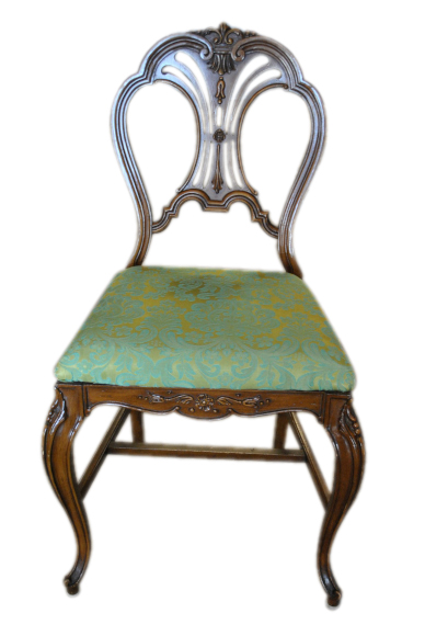 French Louis Xv Mahogany Chair