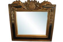 Fine Empire Style Gilt Wood Mirror