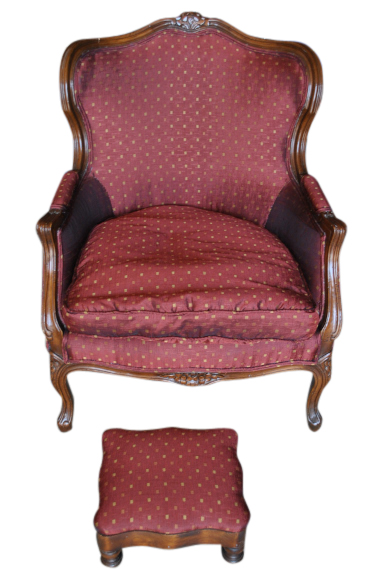 French Armchair Footstool