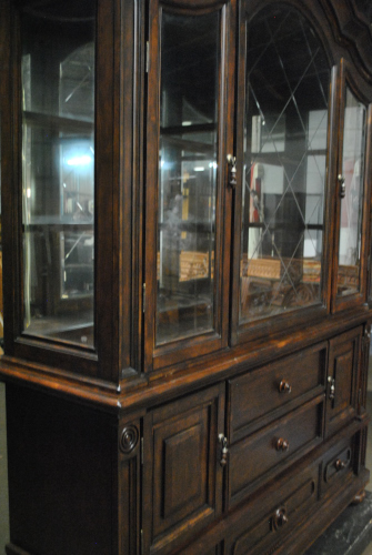 chinese cabinets kitchen fairfield walnut china cabinet retail 2178