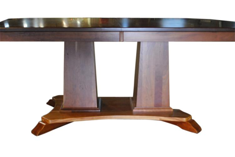 Amish Solid Cherry Dining Table