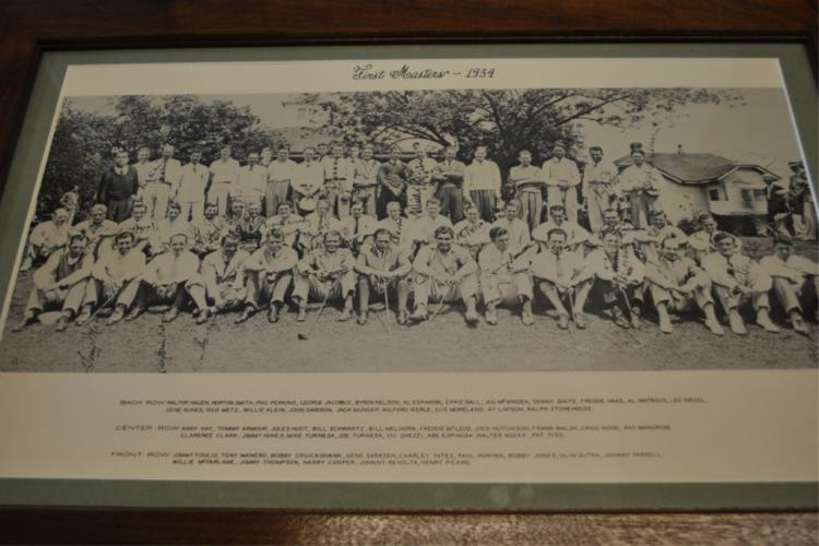 1934 First Masters Golfers Photo