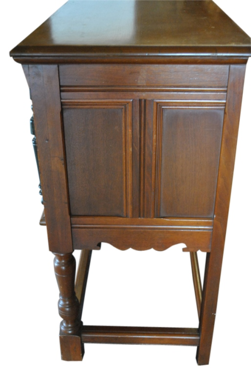 Superb Antique Walnut Sideboard