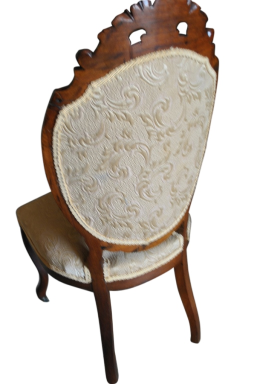 Superb Antique French Rococo Side Chair