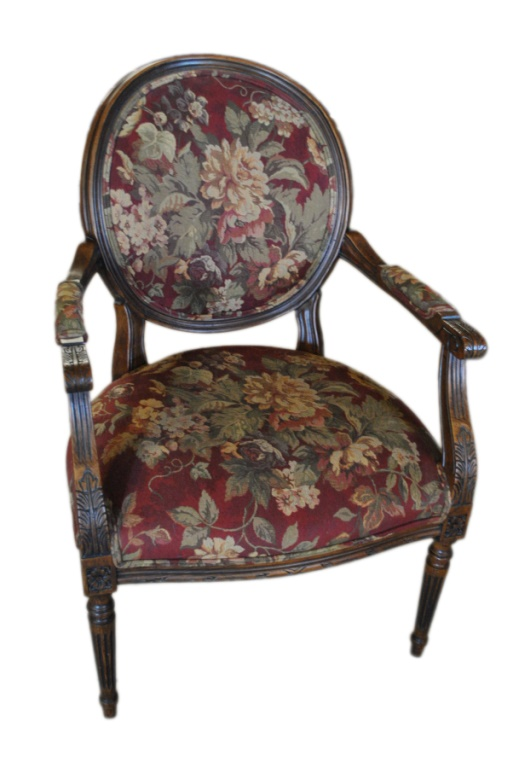 Ethan Allen French Armchair