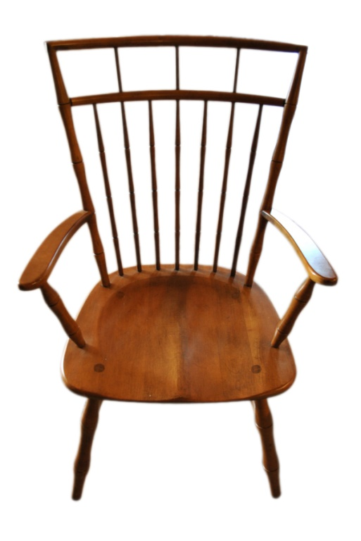 8 Ethan Allen Windsor Dining Chairs