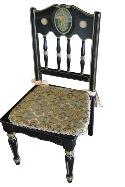 Gorgeous Black Writing Desk Amp Chair