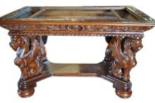 Spectacular Gryphon Library Table