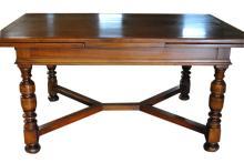 Antique Walnut Draw Leaf Table