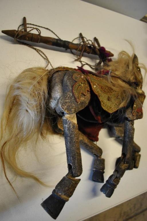 Rare Antique Burmese Horse Puppet