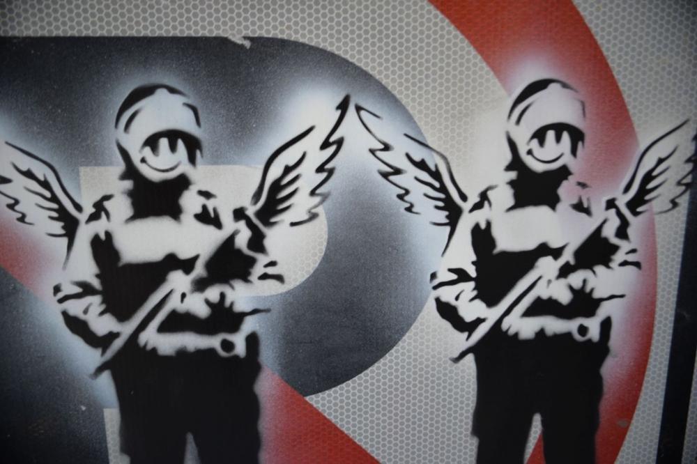 Millward banksy joy Banksy Exposed
