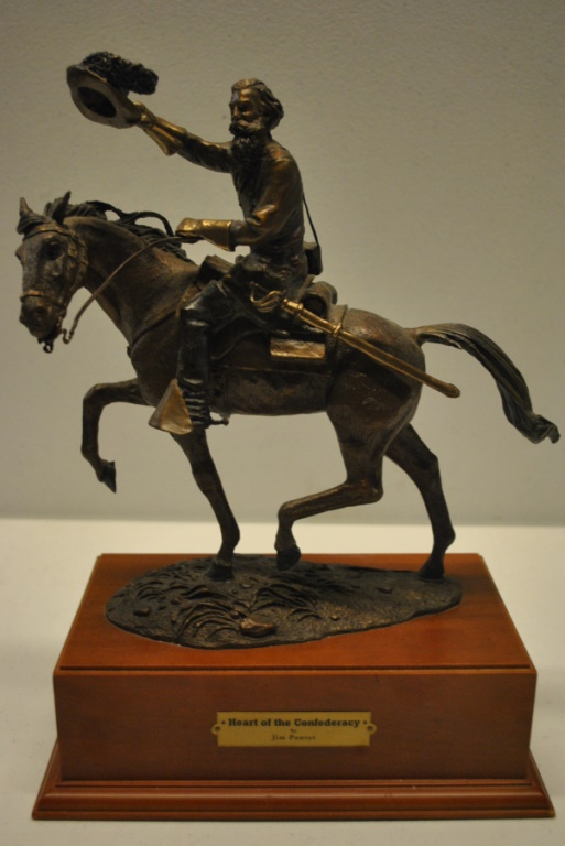 Heart Of The Confederacy Bronze By Jim Ponter