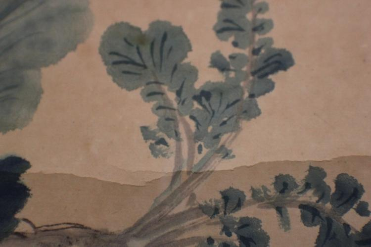 Qing dynasty chinese painting w sign zhang xong for Dynasty mural works