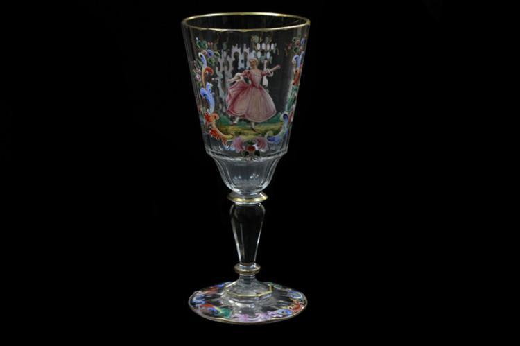 Leo Me Boheimian Glass