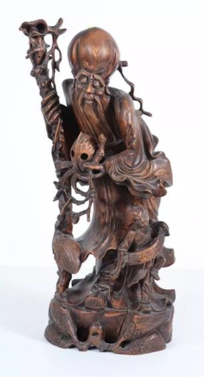 Republic period Chinese Wood Carved
