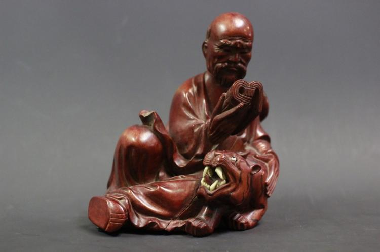 Chinese Wood Carved Luohan