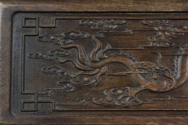 Chinese Huali Wood Cover Box
