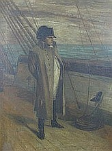 AFTER PAUL DELAROCHE, portrait of Napoleon