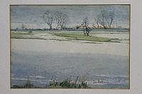 IRENE BACHE ( BRITISH BORN 1901), ''The Fens In