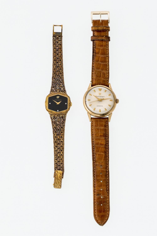 Zwei Girard Perregaux Armbanduhren