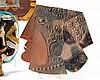 Jean DERVAL (1925-2010) « Profil féminin au collier » Céramique,, Jean (1925) Derval, €0