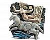 Jean DERVAL (1925-2010) « L'enlèvement d'Europe » Bas-relief en g, Jean (1925) Derval, €0