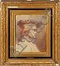 COUTURE Thomas (1815 - 1879) Portrait d'homme au
