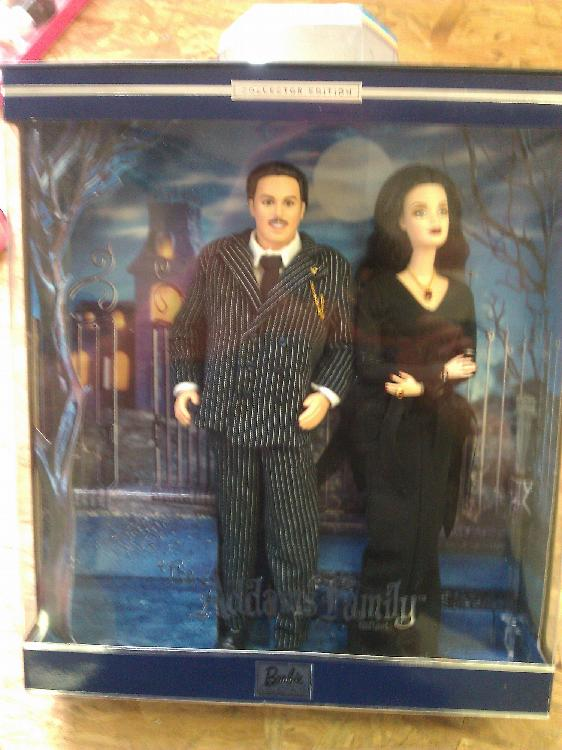 The Adams Family Barbie Collection