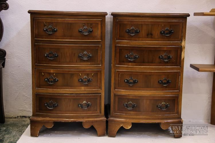 Pair of small bedside chest of drawers for Small bedside chest of drawers