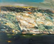 GEOFFREY DYER - AFTER THE FIRES - Oil on canvas