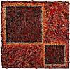 ALEX SPREMBERG - MINGLE - Enamel and string on plywood, Alex Spremberg, Click for value