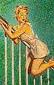 DENNIS ROPAR (B.1971) PIN UP GIRL SERIES Signed