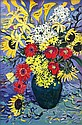 WILLIAM BOISSEVAIN (B. 1927) MIXED BUNCH Signed