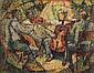 TERENCE JOHN SANTRY (1910-1990) MUSICIANS Signed &