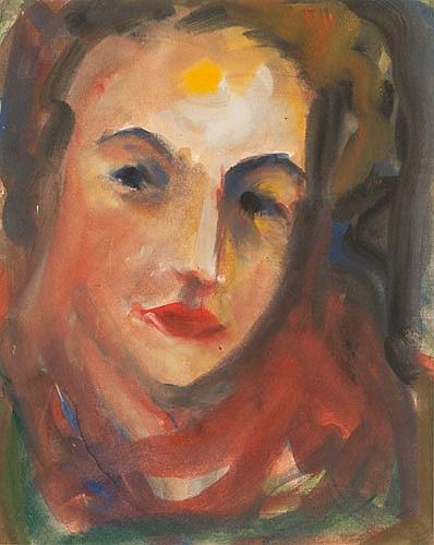 DANILA VASSILIEFF (1897-1958), PORTRAIT OF LINDA,