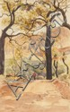 HERBERT WILLIAM GIBBS (1852-1940), BURNT JARRAH