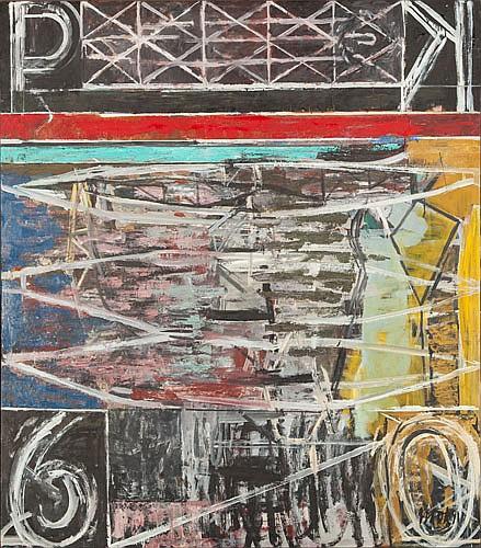 RICHARD HOOK (B. 1945), PORT KEMBLA, Signed &