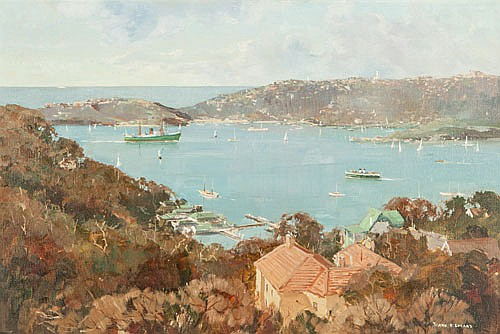 FRANK H. SPEARS (c.1920-1987), SYDNEY HARBOUR FROM