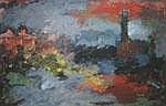 IRWIN CROWE (1908-2003) THAMES IMPRESSION Signed