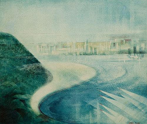 ERNEST SIDNEY PHILPOT (1906-1985) BOAT RACE, SWAN