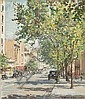 DORA LYNELL WILSON (1883-1946) COLLINS STREET Oil, Dora Wilson, Click for value