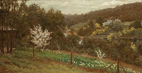 JO (MARY ESTELLE) SWEATMAN (1872-1956) BRIDGE AT