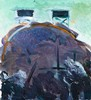 MAC BETTS - WATER TANK - Oil on canvas, Mac Betts, AUD1,300