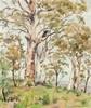 WILLIAM BOISSEVAIN - LANDSCAPE KALAMUNDA C.1959 - Oil on canvas, William Boissevain, AUD2,000