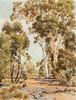 WILLIAM BOISSEVAIN - HILL'S LANDSCAPE C.1957 - Oil on canvas, William Boissevain, AUD2,000