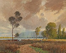 WILLIAM LISTER LISTER (1859-1943) THE WINDSWEPT