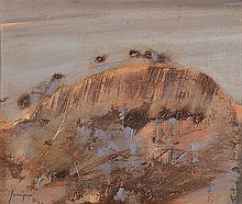 ROBERT JUNIPER (1929-2012) BIG ROCK AT MERREDIN