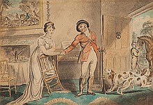 ROBERT DIGHTON (ENGLISH 1750-1814) THE HUNTSMANS