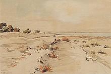 WILLIAM BOISSEVAIN (B. 1927) LANDSCAPE Signed &