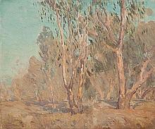 EDWARD CAIRNS OFFICER (1871-1921) LANDSCAPE